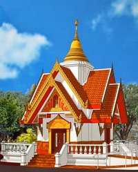 New Pagoda at Buddhist Temple of America